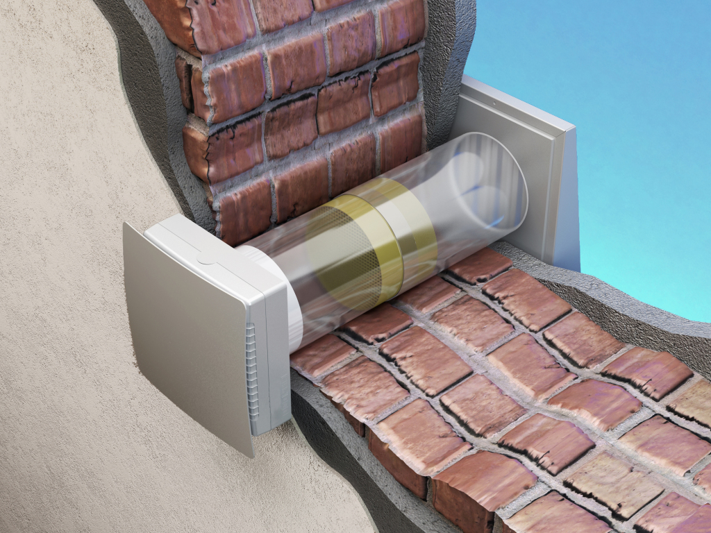 Ventilazione meccanica senza canali